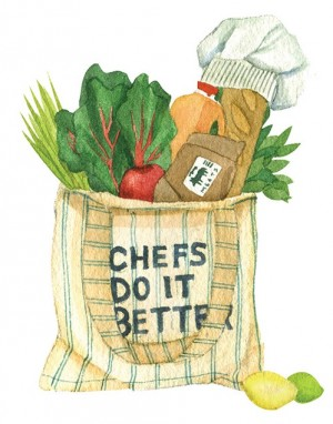 Shop–and cook–like a chef.
