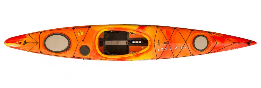FLOAT YOUR BOAT Jackson Kayak's fast and friendly expedition boat makes extended whitewater and mixed-water ventures fun for skilled and beginner paddlers alike. Jackson Kayak Karma RG, $1,299, Loveland Canoe and Kayak, lovelandcanoe.com