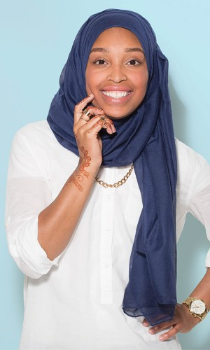 OCCUPATION: Associate Account Executive, Barefoot Proximity; blogger, le-cartier.com HER STYLE: Street-chic hijabi