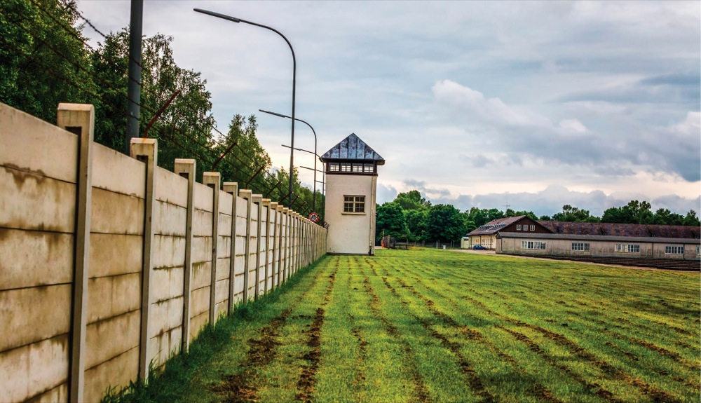 Follow a somber history to Dachau.