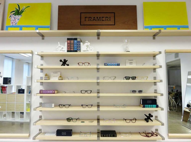 Show and Tell (and Try On) at Frameri's Showroom