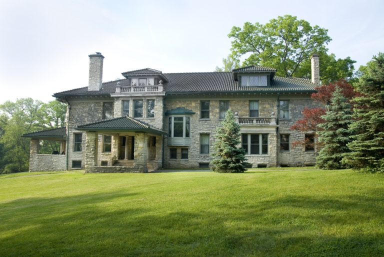On The Market: A Palatial Limestone Mansion
