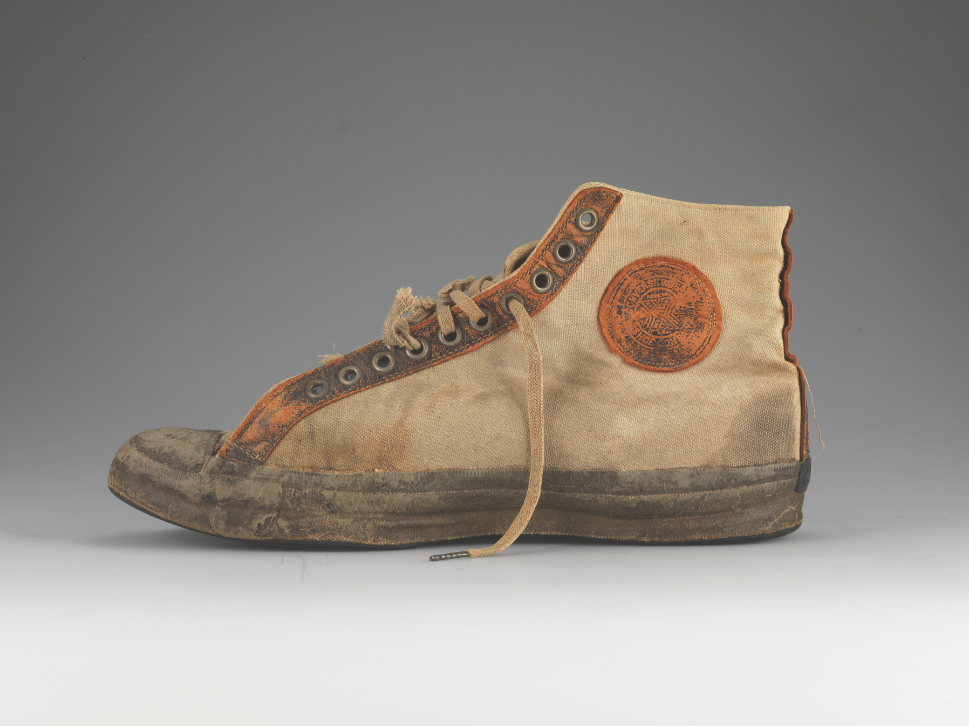 Converse Rubber Shoe Company, All Star/Non Skid, 1917. Converse Archives, courtesy American Federation of Arts.