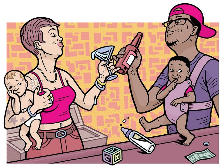 Baby-friendly bar: Comet