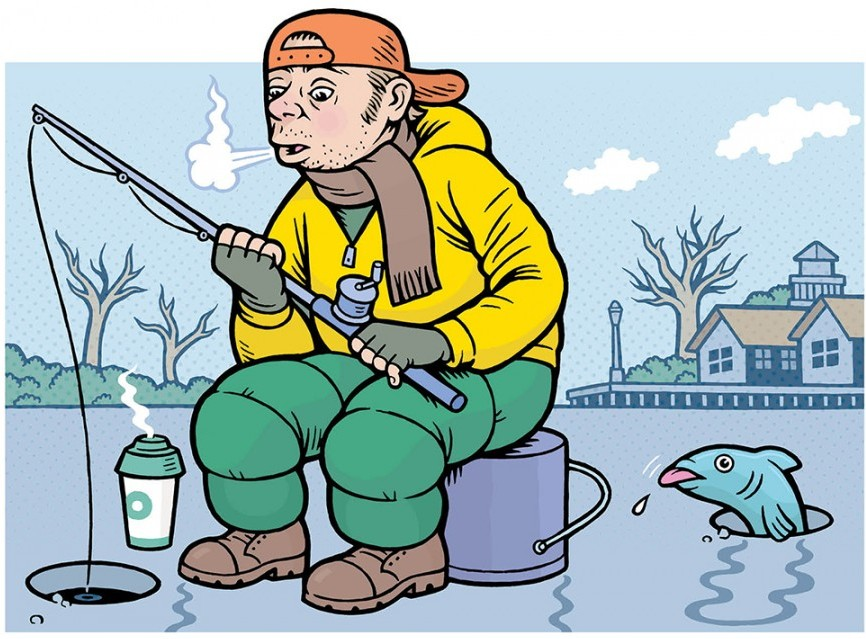 Great Parks of Hamilton County ice fishing