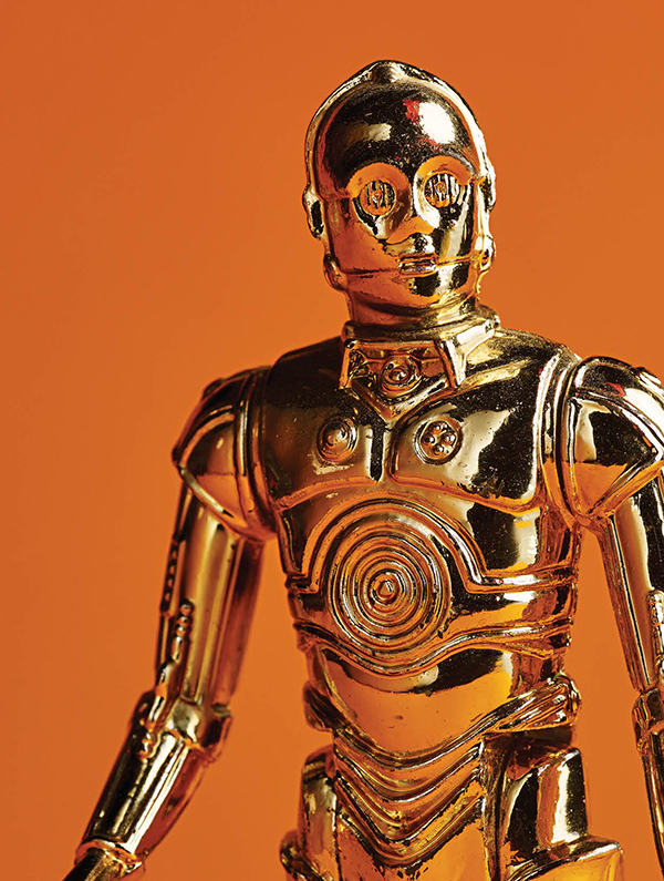 C-3PO, from the original 1978 series.