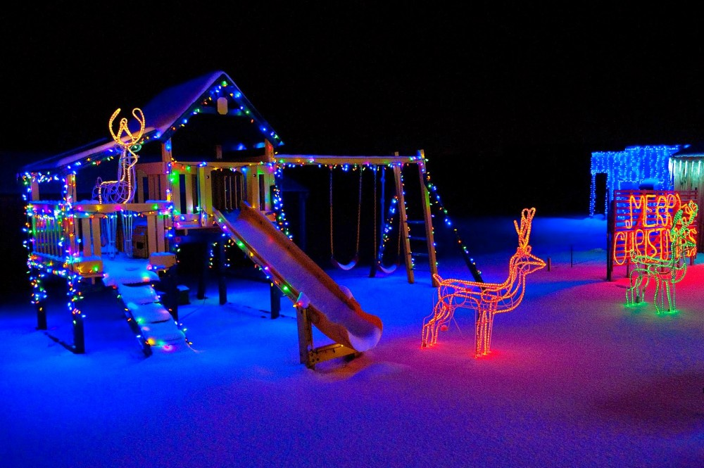 Playground at The Christmas Ranch