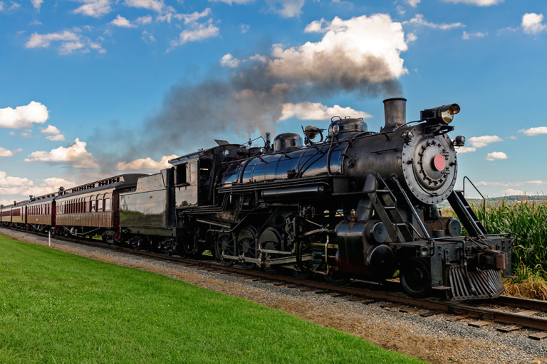 Travel Kentucky Countryside By Train at the Kentucky Railway Museum