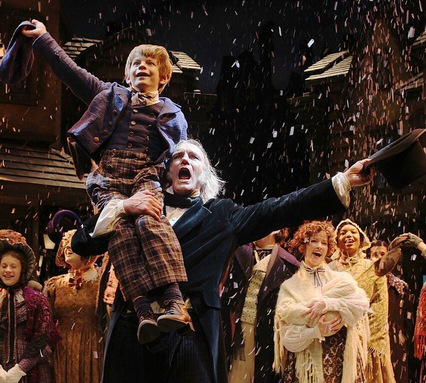 Tiny Tim A Christmas Carol: PHOTOS: 25 Years Of A Christmas Carol At Cincinnati