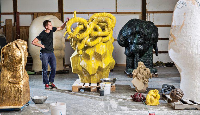 Matt Wedel's Sculptures Are Larger Than Life
