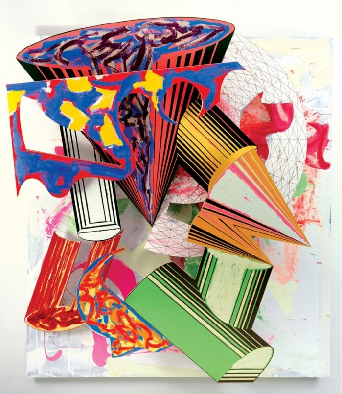 Frank Stella at the Whitney
