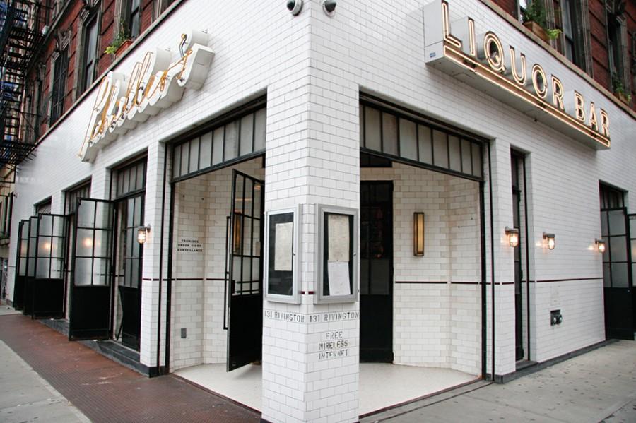 Schiller's Liquor Bar on the Lower East Side