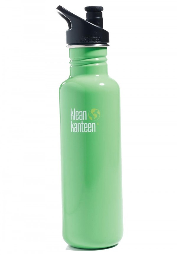 Staying hydrated is easy (and safe) with a 27-oz BPA-free stainless steel bottle. Klean Kanteen Classic with sport top, $21, Park + Vine, parkandvine.com