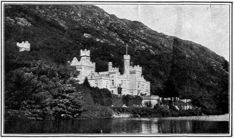 Kylemore Castle, from Harper's Bazaar, February 1912