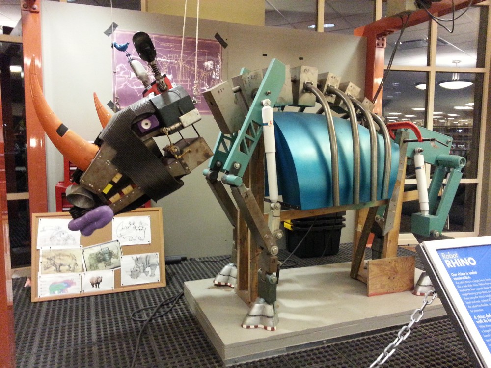 Giant Robot Animals Take Over the Boone County Library ...