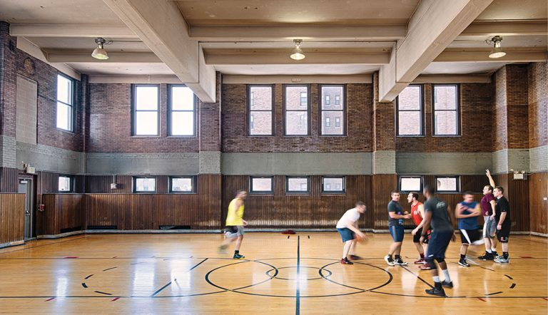 Cincy Obscura: Christ Church Gymnasium