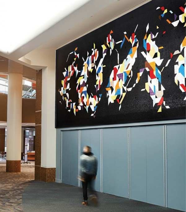 Charley Harper Murals at Duke Energy Convention Center