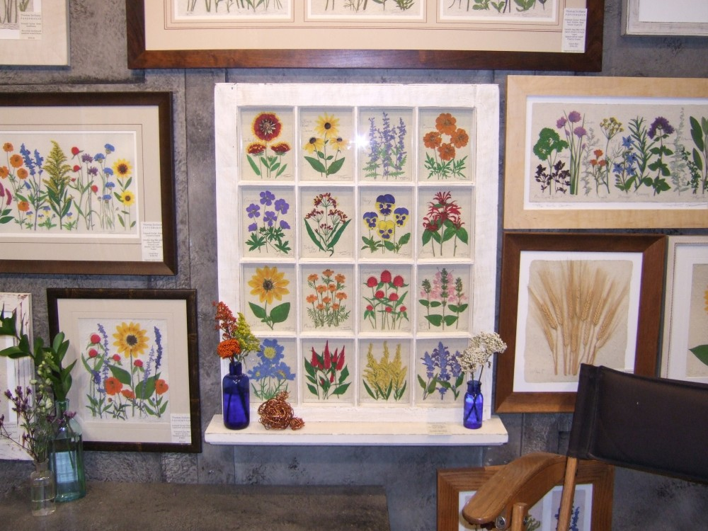The Papermaker's work on display