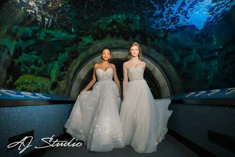 Bridal Pampering Party at Newport Aquarium