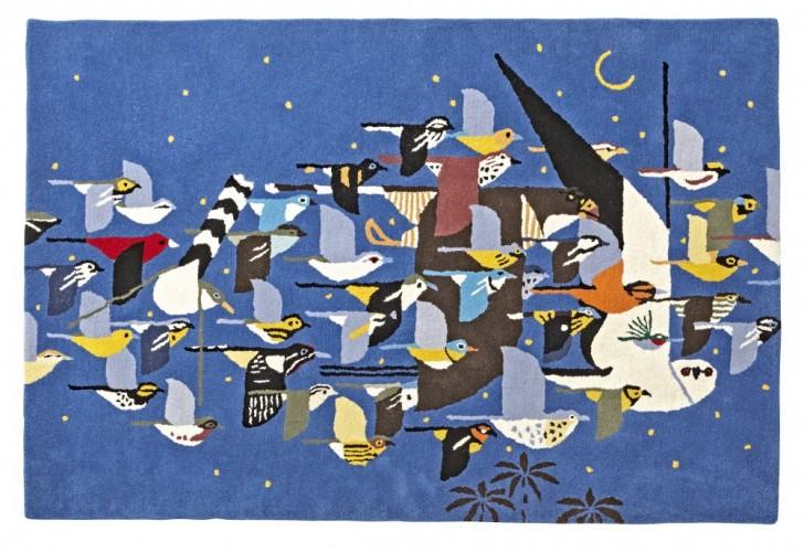 Charley Harper for Land of Nod Migrating Birds Rug, $299 (4'x6'), $399 (5'x8')