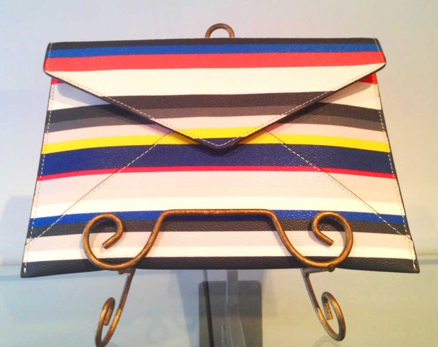 Rebecca Minkoff Leo clutch, $95, The Wardrobe