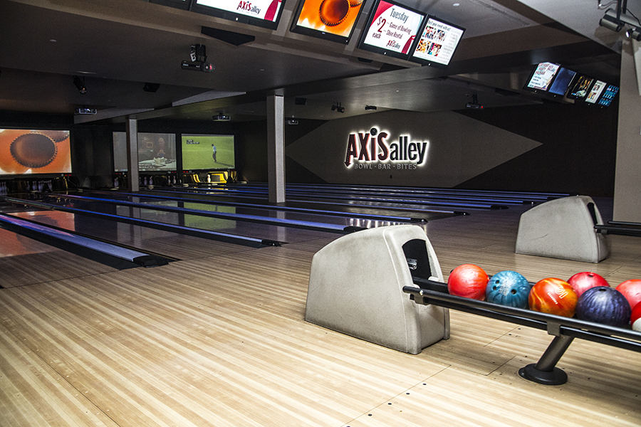 Axis Alley features $2 Tuesdays: $2 games of bowling and $2 shoe rental.