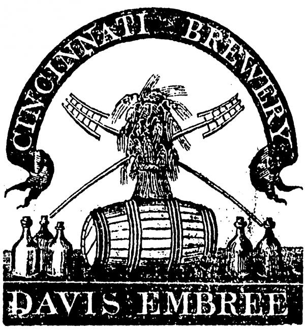 Davis Embree Brewery From Liberty Hall newspaper
