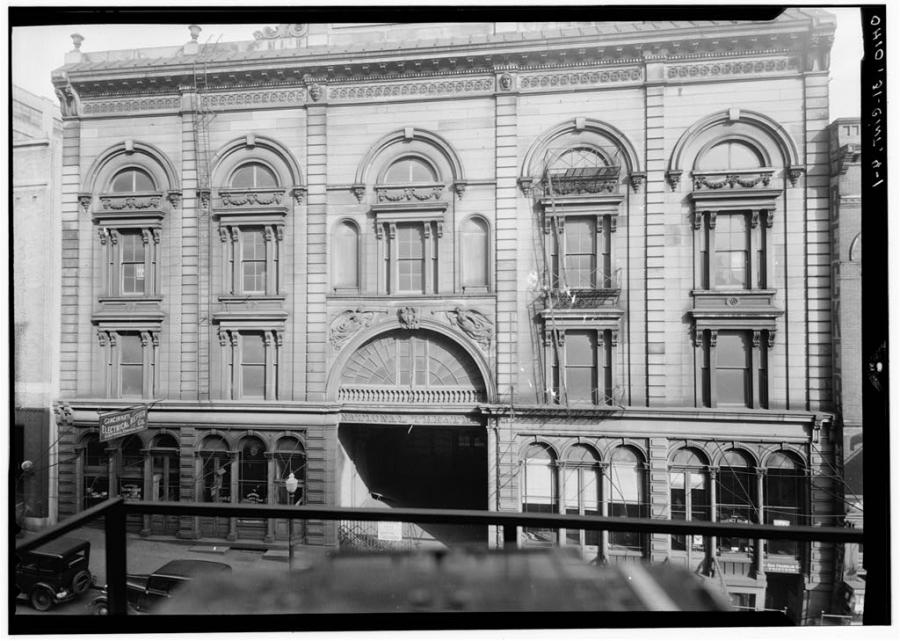 Cincinnati's National Theater catered to the town's prostitutes for most of its heyday. The building was demolished in 1940.