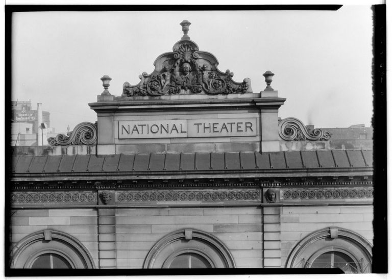 The National Theater's Third-Floor Balcony Was Basically a Brothel