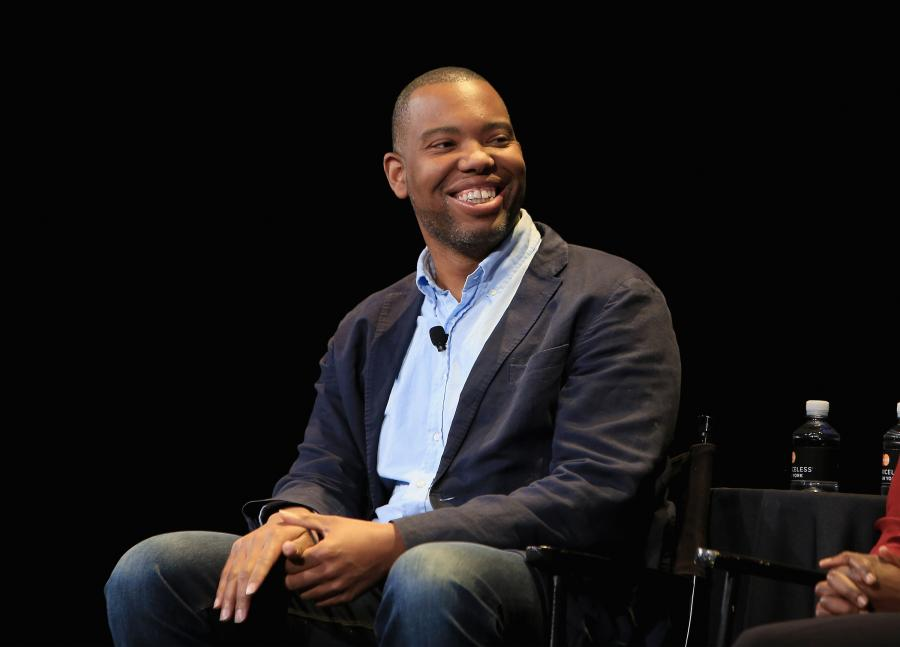 NEW YORK, NY - OCTOBER 04: Writer Ta-Nehisi Coates speaks onstage at the New Yorker Festival 2015 - The Fire This Time at SIR Stage 37 on October 4, 2015 in New York City. (Photo by Anna Webber/Getty Images for The New Yorker)