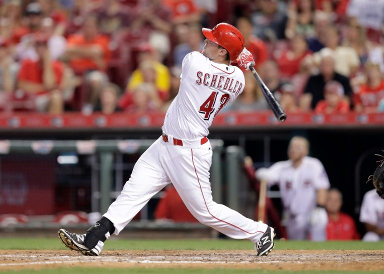 Scott Schebler is No Longer the Odd Man Out