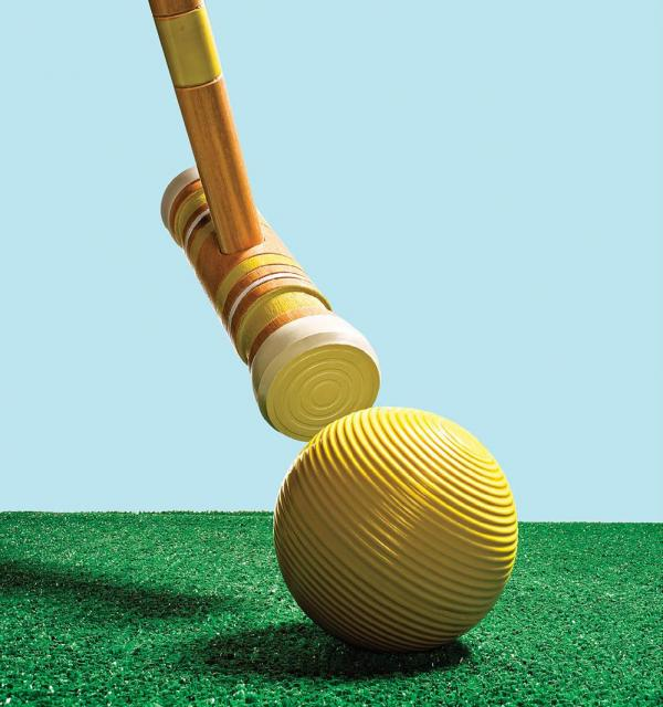 Whether it evokes visions of Alice in Wonderland or women named Heather wearing shoulder pads, croquet has been keeping the masses entertained since the 19th century. This set includes all the necessary playing pieces plus a carrying bag, which means it's easy to bring the fun anywhere. Quest Rec Level Croquet set, $49.99, Dick's Sporting Goods, dickssporting goods.com