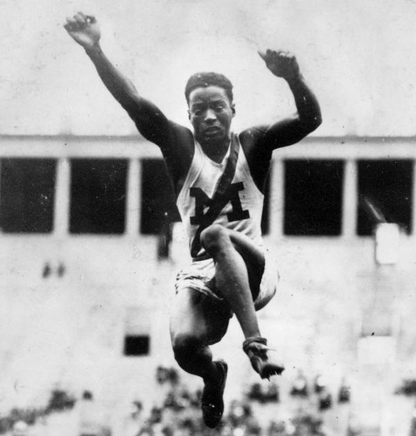 Cincinnati in the Olympics: William DeHart Hubbard