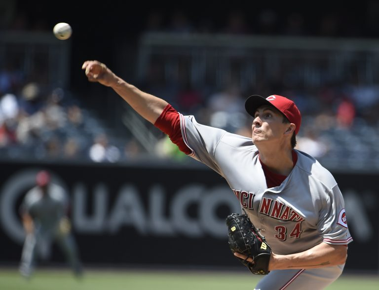 Homer Bailey is back. And a bit peeved.
