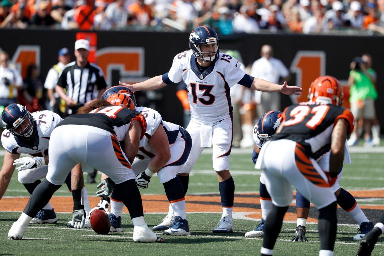 How Trevor Siemian Carved Up the Bengals