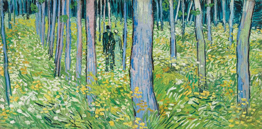 Vincent van Gogh (1853–1890), Undergrowth with Two Figures