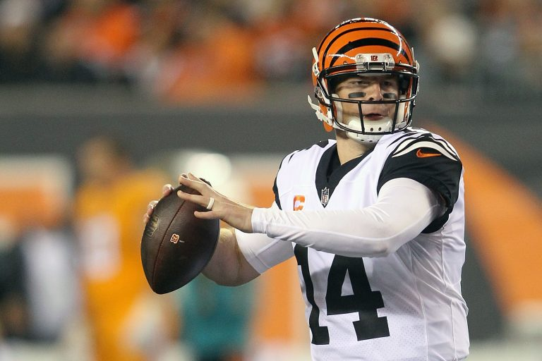 He's Been Forced to Throw to Some New Faces, but Andy Dalton is Still Playing Well