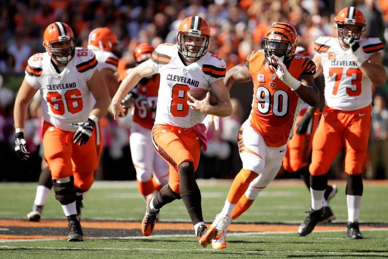 The Browns Gashed the Bengals Run Defense