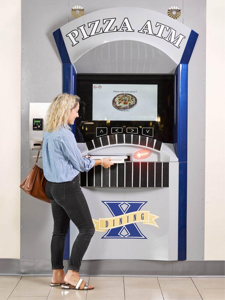 Xavier's Pizza ATM