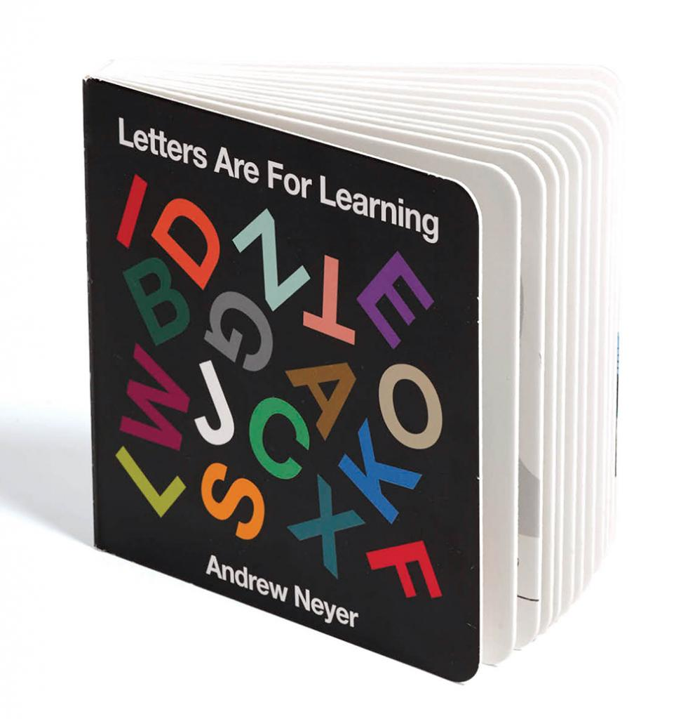 Letters Are For Learning, by Andrew Neyer