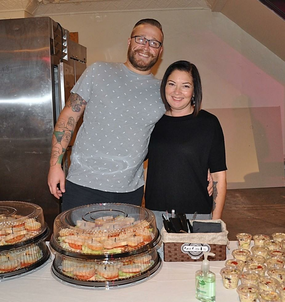 Deli owners Jeff Strong and Sheelah Parker