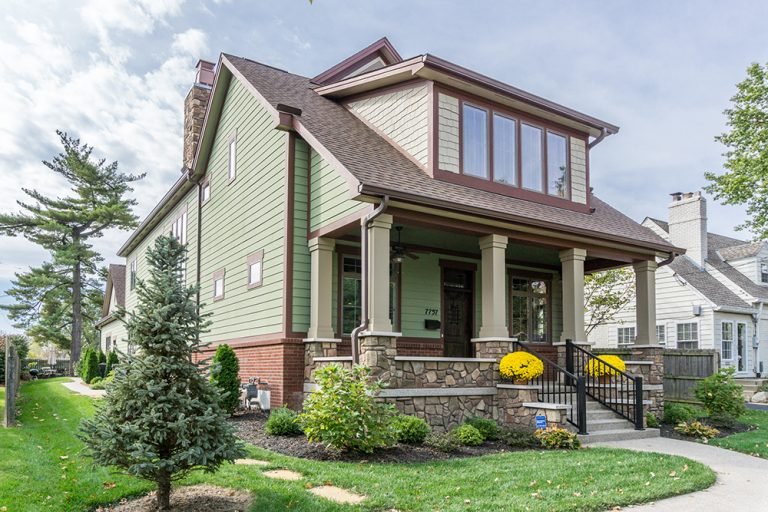 This New Montgomery Home is Like a Sears Kit House, Plus Walk-In Showers