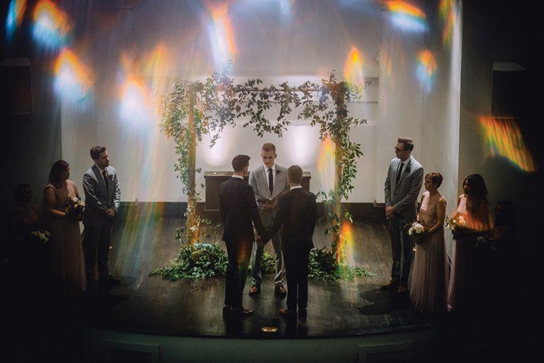 Local Wedding Album: Michael Woodson & Josh Lehenbauer