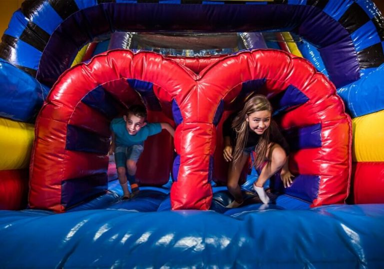 5 Inflatable Playgrounds Your Kids Will Love