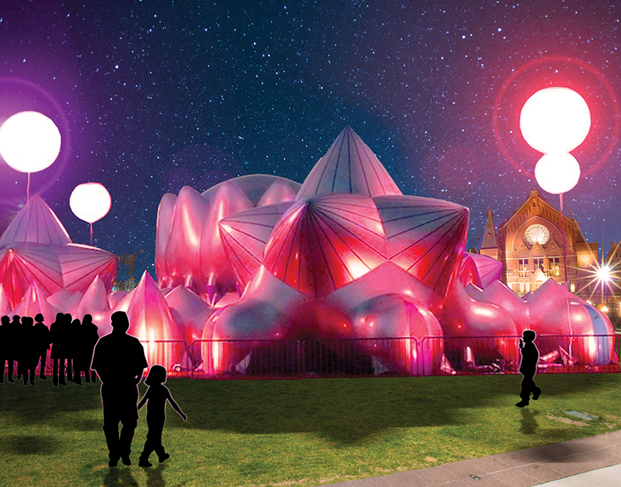 Blink Aims To Establish Cincinnati S Artistic Vision