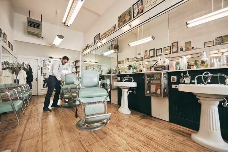 Ferrari Barbershop & Coffee Co. Carries On a Downtown Tradition
