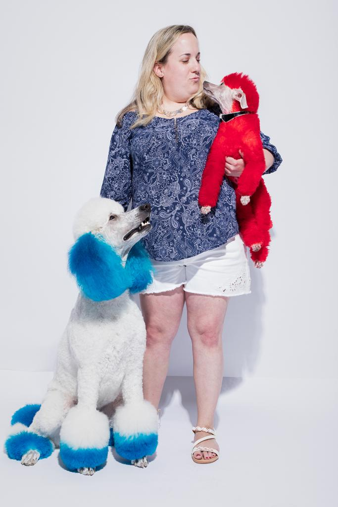 Do You Recognize Anna Steinmetz And Her Patriotic Poodles