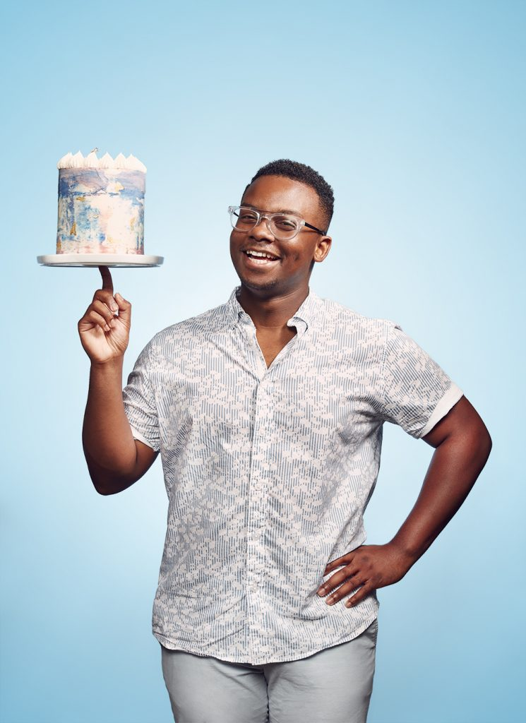 James Avant IV of OCD Cakes Works to End Mental Health