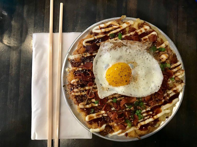 Quan Hapa's Okonomiyaki Is the Brunch Upgrade You've Been Waiting For