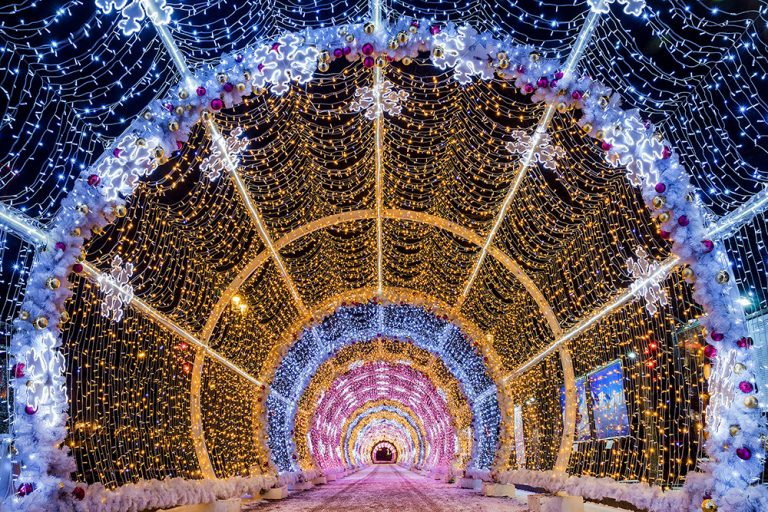 Top 5 Holiday Light Shows